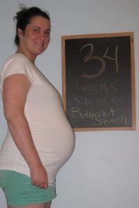 34 weeks - 6/18/13