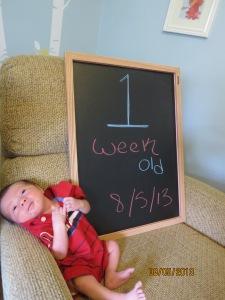 08/05/13 - 1 week old